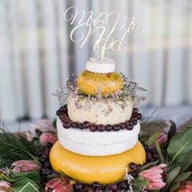 Wedding Tower of Cheese